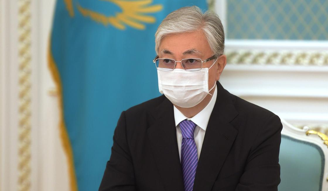 Токаев выступил с видеообращением к казахстанцам
