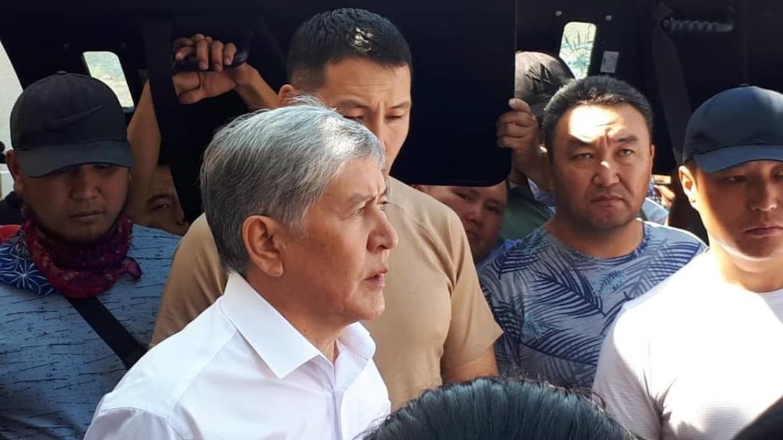 Алмазбек Атамбаев. Фото: АКИpress
