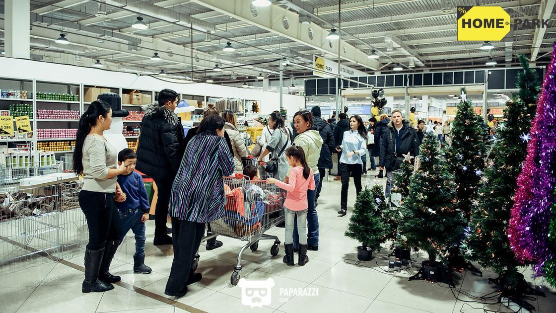 Открытие гипермаркета «Home Park» - товары для дома