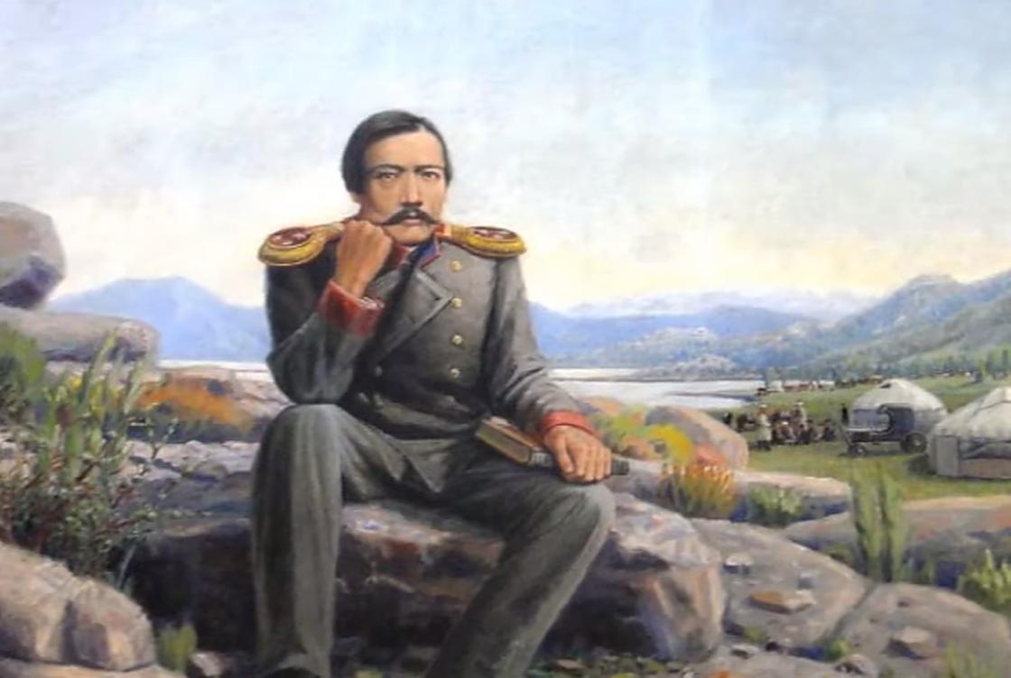Шокан Уалиханов во время путешествия
