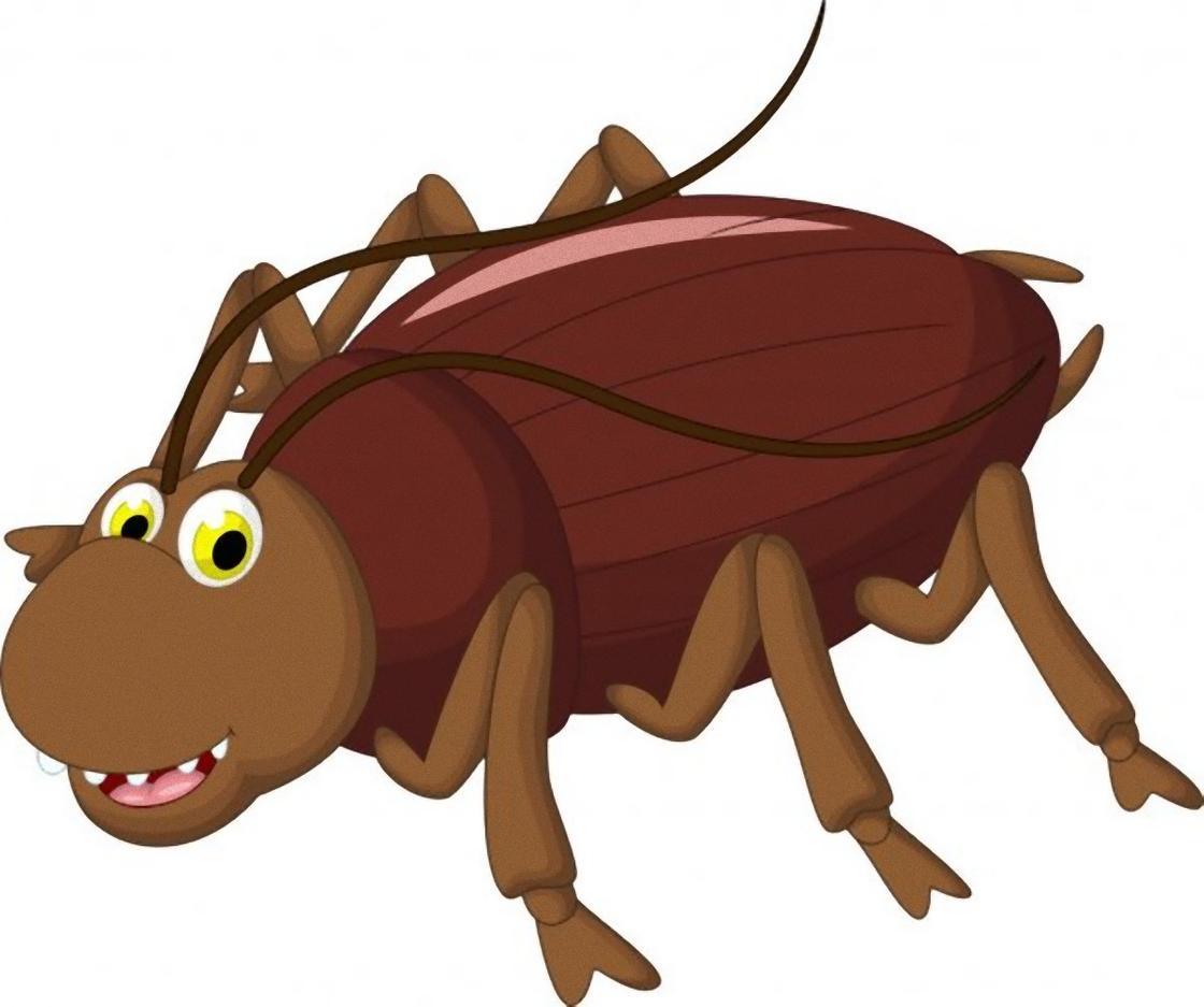 таракан нарисованный