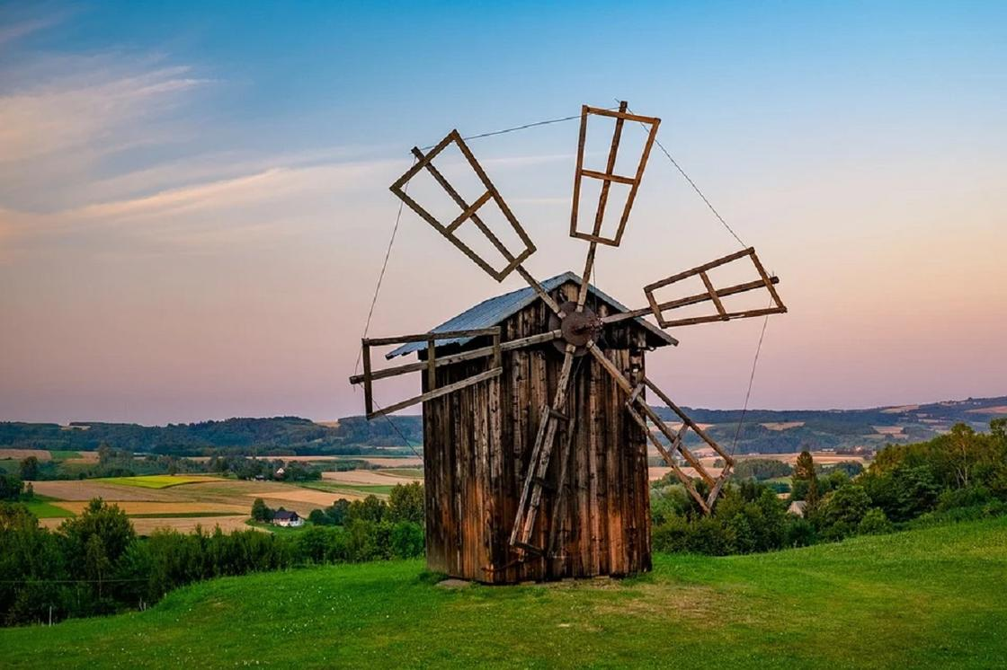 Мельница в Польше