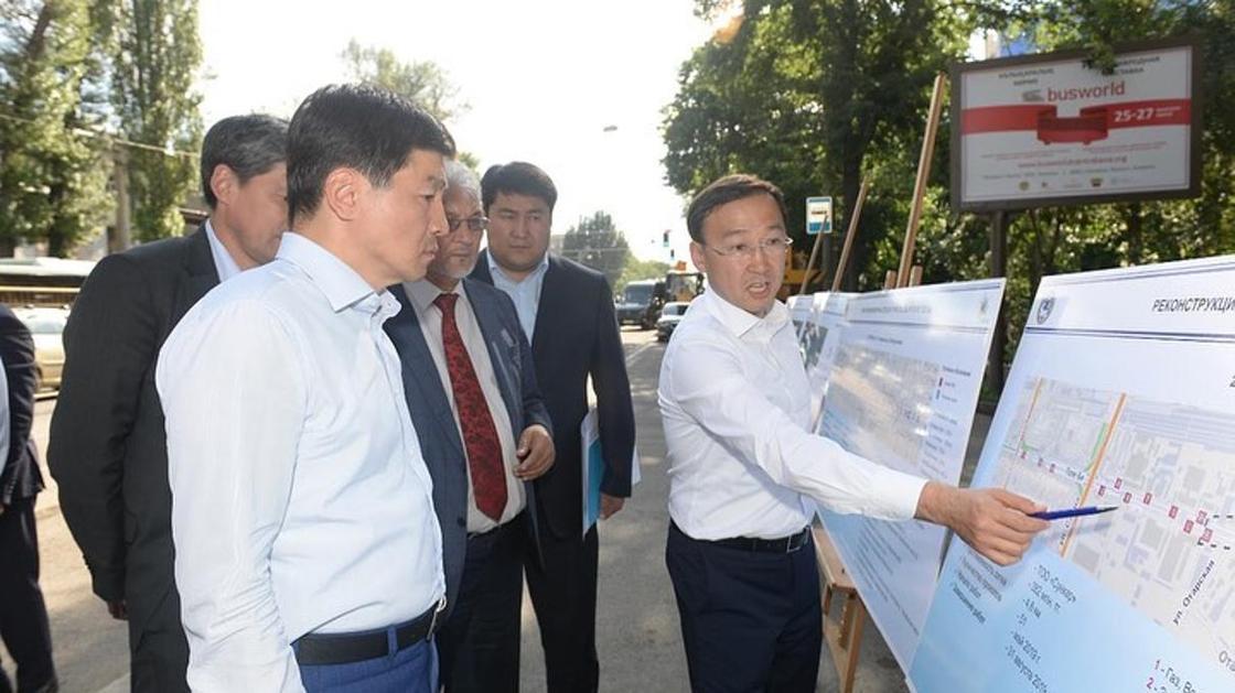 Новые фонтаны и энергосберегающие фонари появятся на трех улицах Алматы (видео)