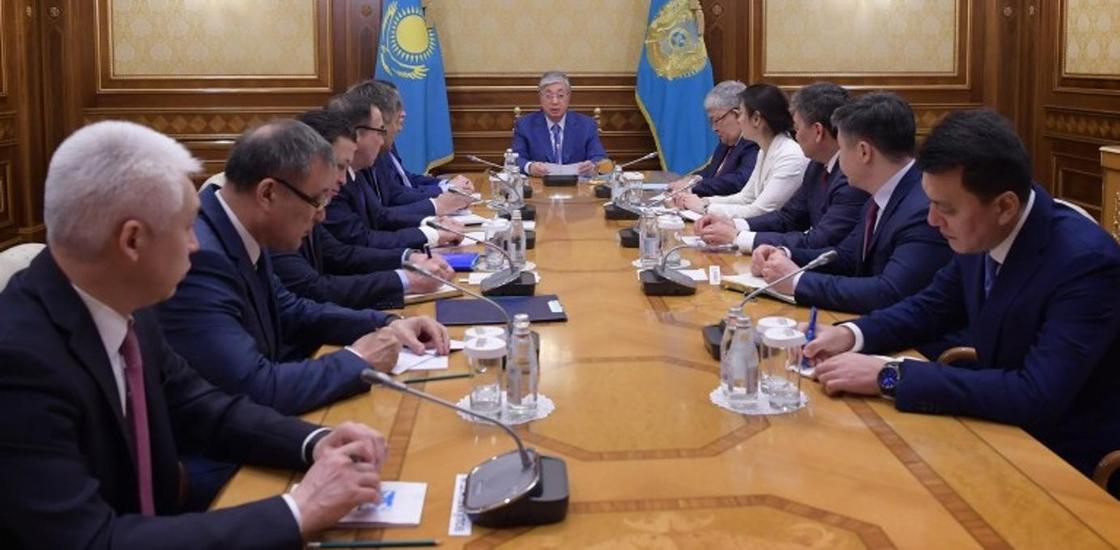Тоқаев Президент әкімшілігінің құрамына Көшербаевты таныстырды