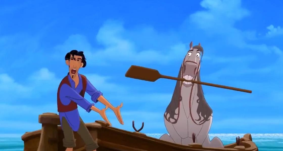 Кадр из мультфильма «Дорога на Эльдорадо»