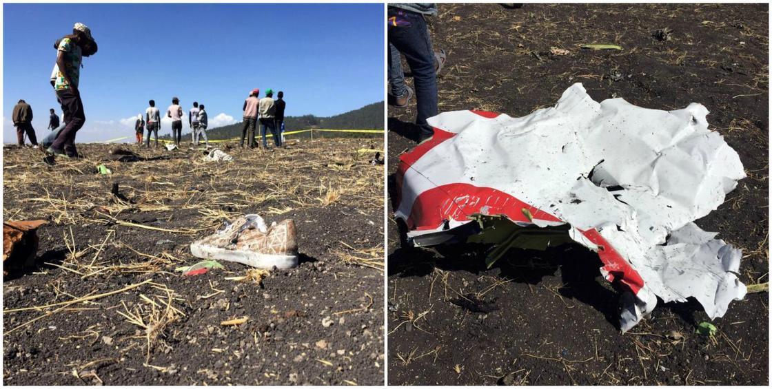 Очевидец рассказал новые подробности падения самолета в Эфиопии