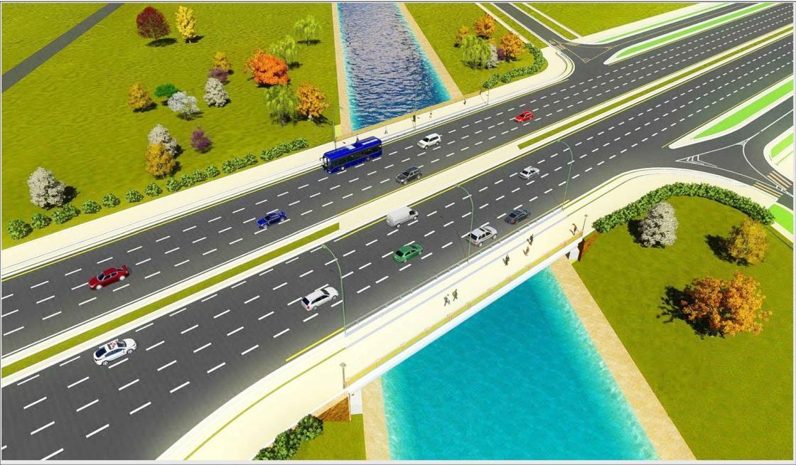 Новые развязки и мосты появятся в Астане