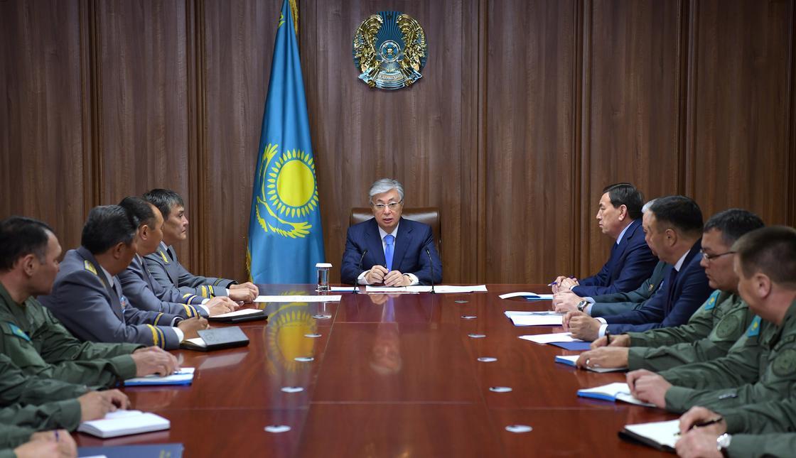 Токаев дал поручения руководству Службы государственной охраны