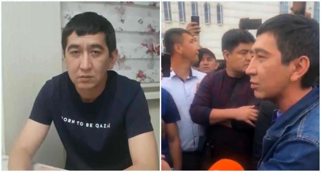 Задержание Рината Заитова объяснили в полиции Алматы