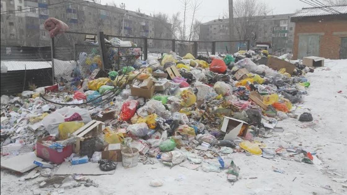 """""""Полнейшая антисанитария"""": жители Уральска пожаловались на грязь и мусор в городе"""