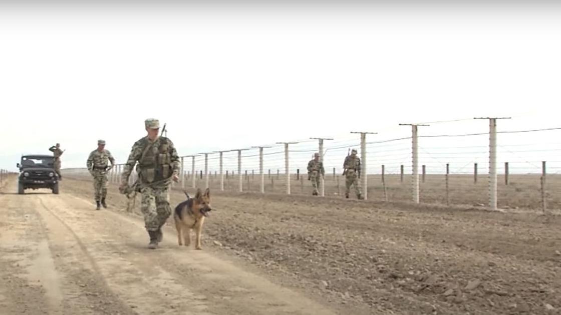 Пограничники на границе