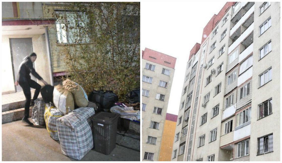 Все жильцы накренившегося дома в Алматы выехали из квартир
