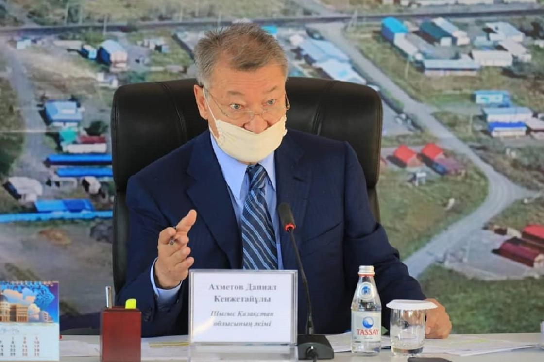 """Даниал Ахметов заявил, что в селе Урджар скоро смогут садиться """"Боинги"""""""