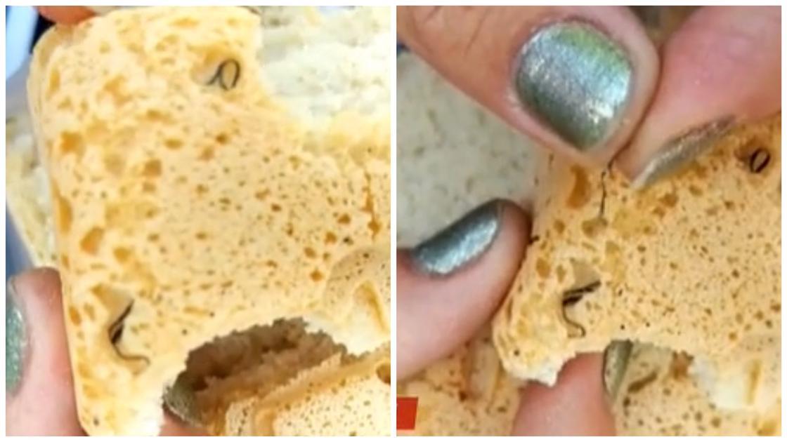 Жительница Алматы нашла железную стружку в хлебе