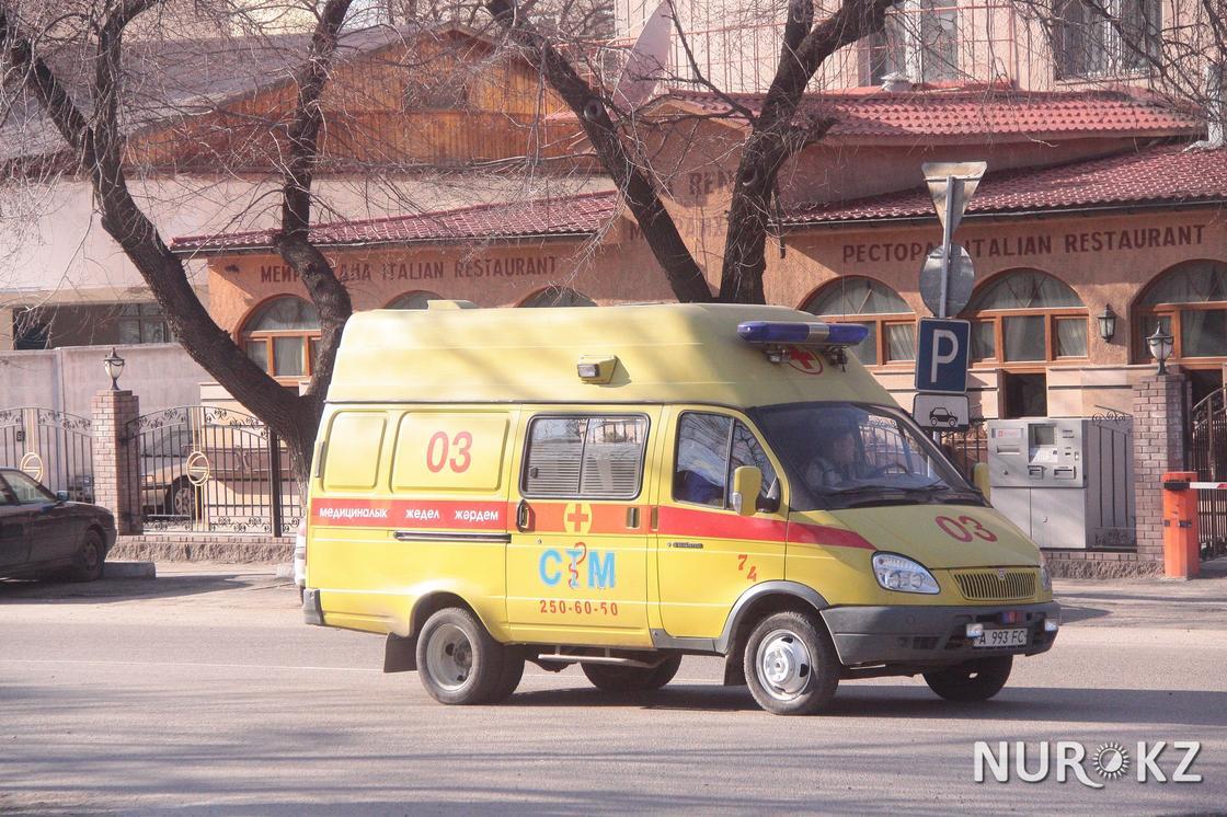 Трое детей погибли в результате аварии в Туркестанской области