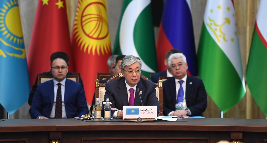 Токаев обозначил главные задачи ШОС на саммите в Бишкеке