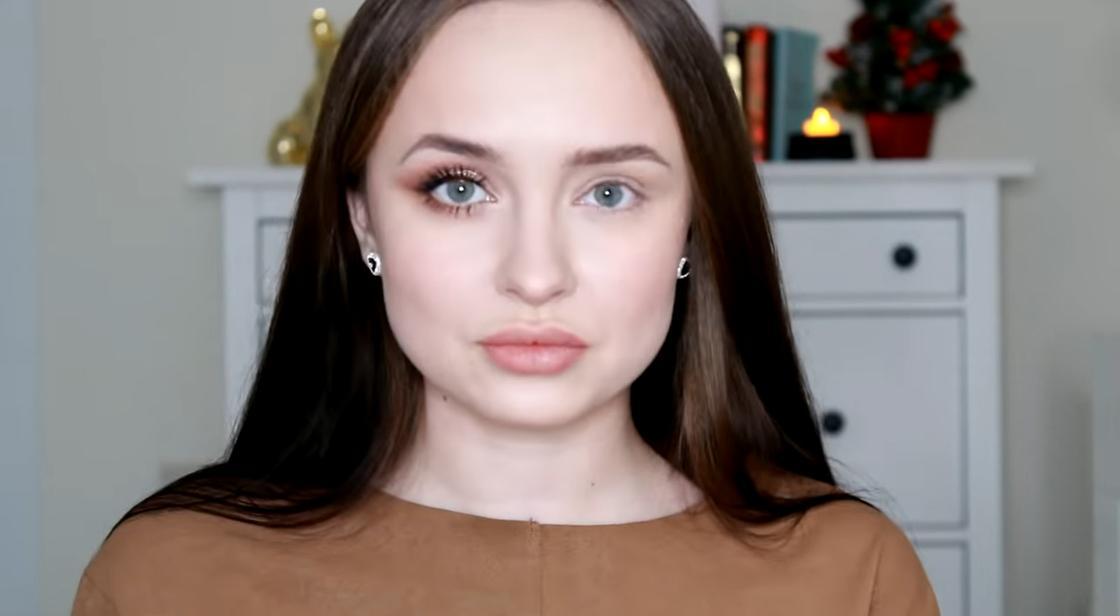 Макияж для увеличения глаз: до и после