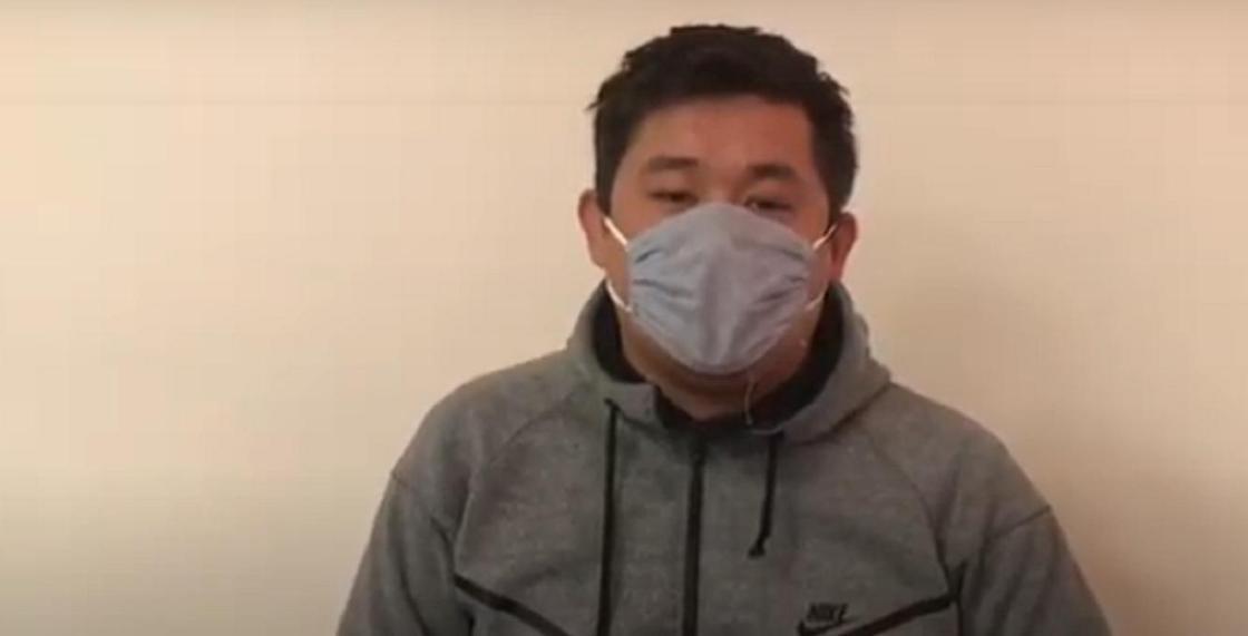 Нарушившего несколько статей ПДД ночного гонщика поймали в Актау (видео)