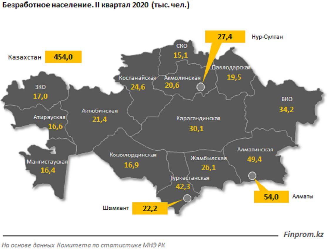 Статистика на карте страны