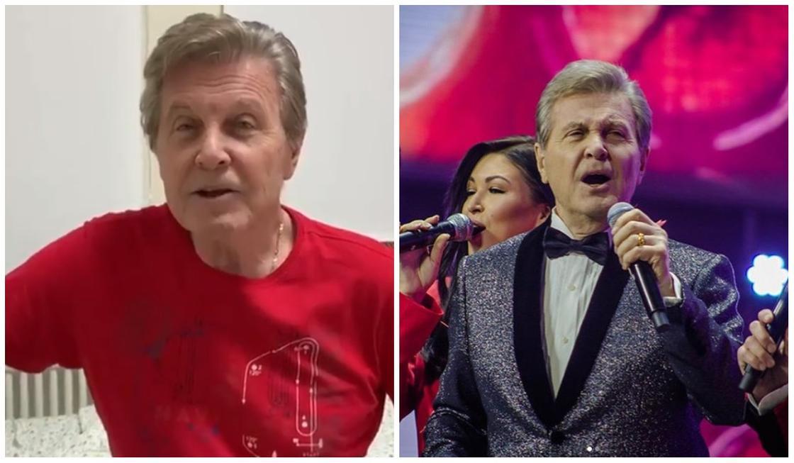 Зараженный коронавирусом Лещенко спел из больничной палаты