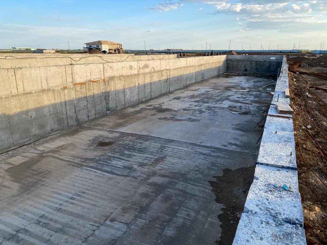 В Нур-Султане ведется строительство трех крупных ливневых канализаций