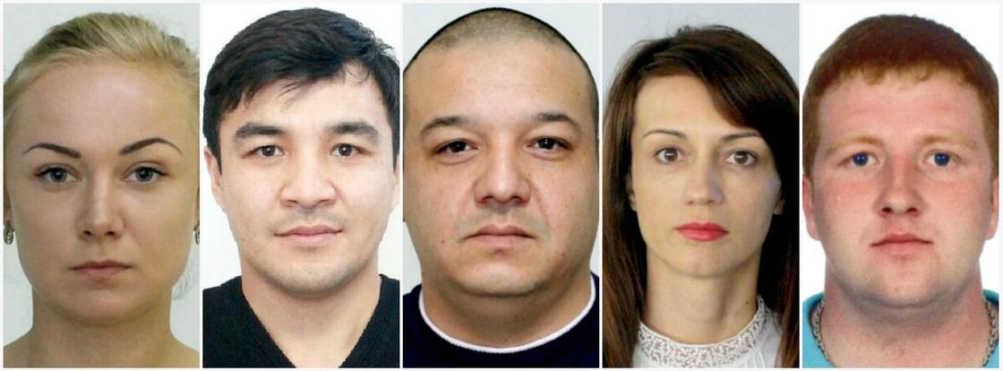 Опубликованы фото подозреваемых в создании и участии в ОПГ