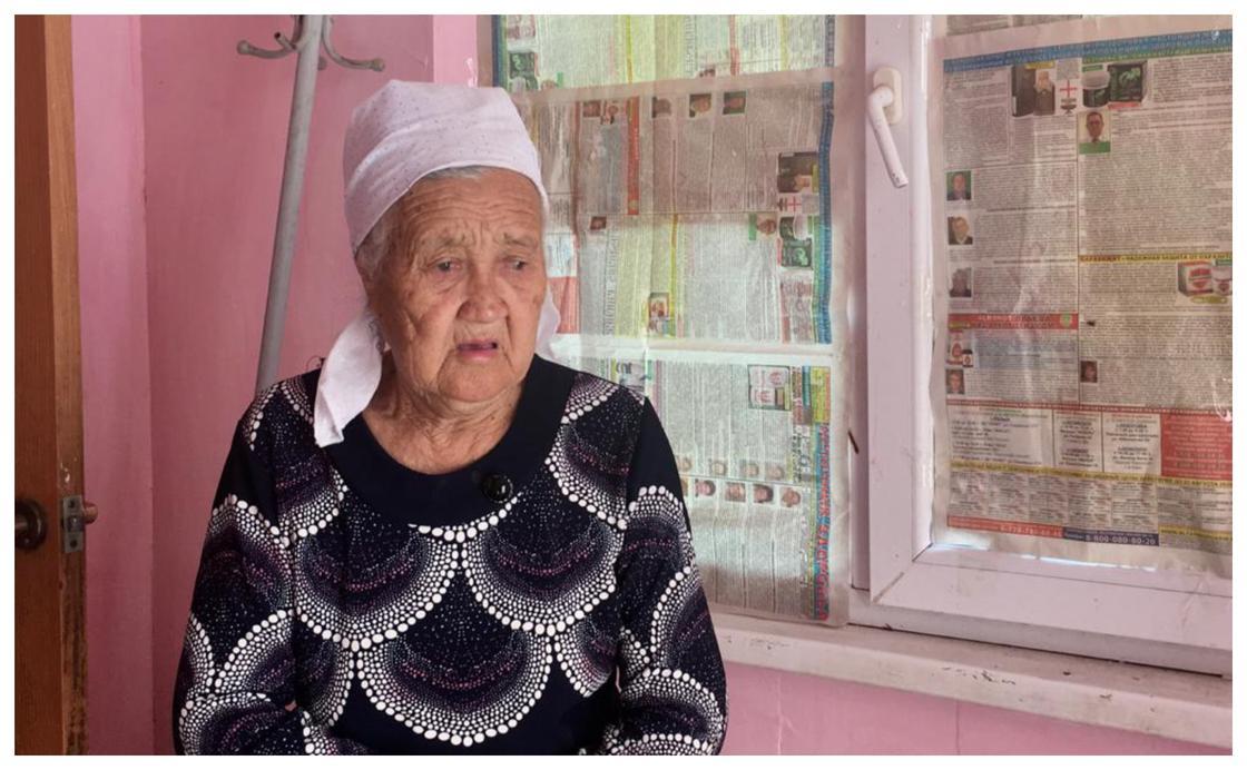 Марқұмның анасы, фото: Uralskweek.kz