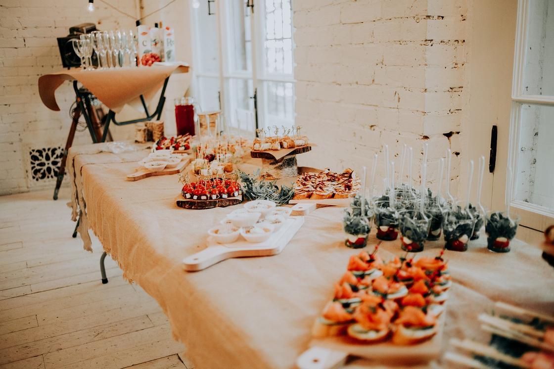 Закуски на свадьбу