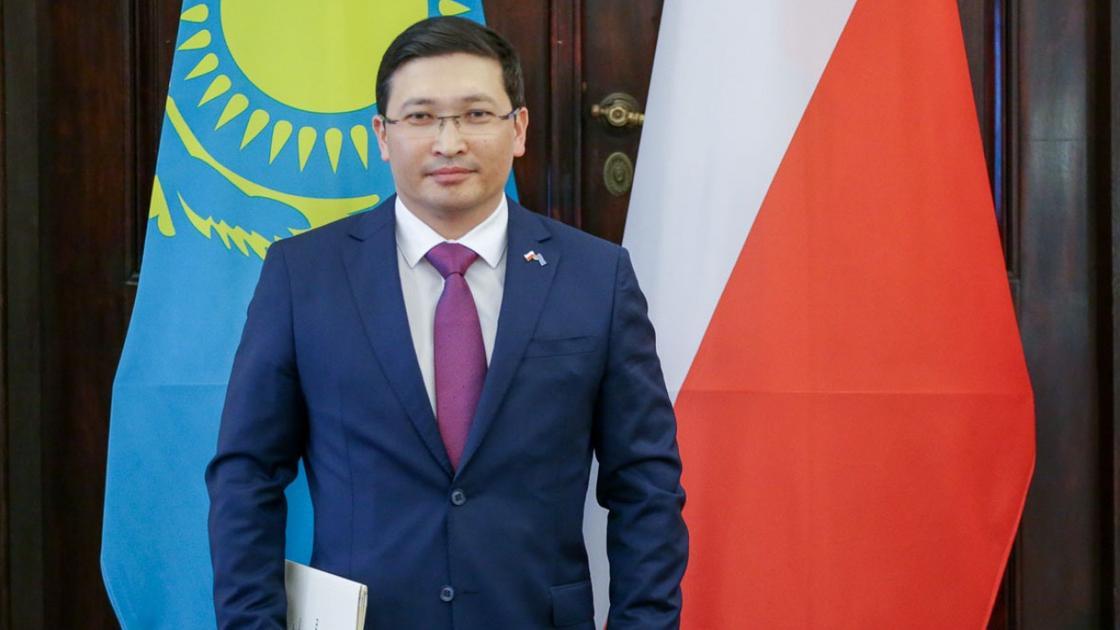 Баймухан Маргулан назначен заместителем министра иностранных дел Казахстана