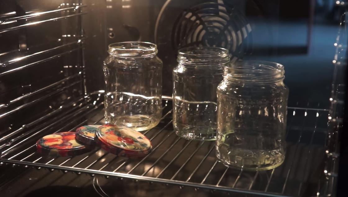 Прокаливание банок в духовке
