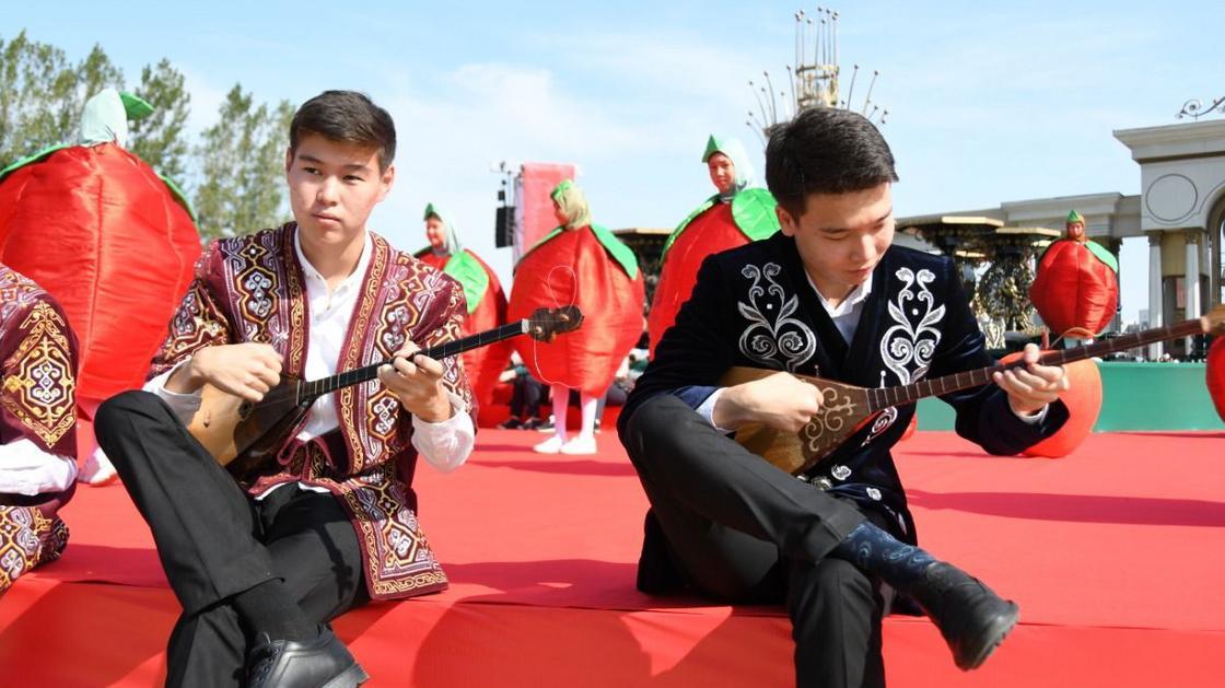 Как в Алматы отметили День города (фото)