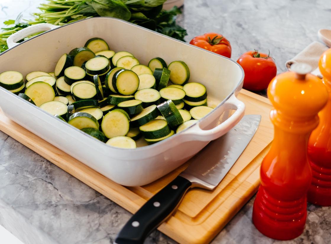Пирог из кабачков: рецепт приготовления с фото