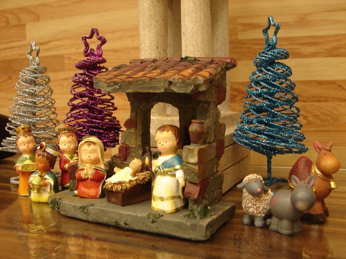 Кукольное представление о рождении Иисуса