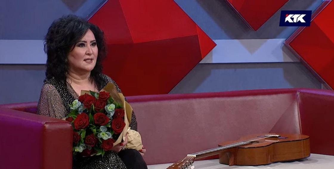 """Гауһар Әлімбекова. Фото: """"Астарлы ақиқат"""" бағдарламасынан"""