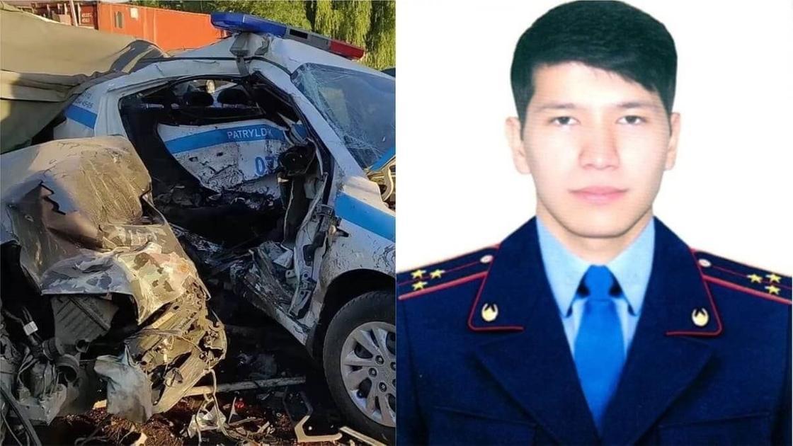 Алматы блок-бекетіндегі жол апатынан аман қалған полицей есін жиды