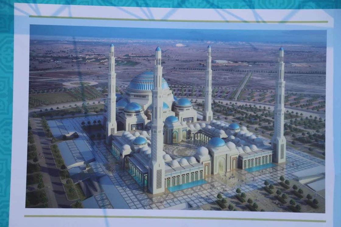Самый большой купол в мире: как будет выглядеть Главная мечеть Астаны (фото)