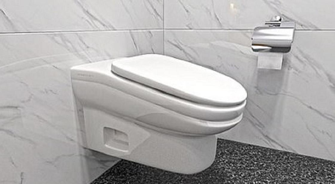 Неудобный унитаз изобрели специалисты, чтобы сотрудники меньше проводили времени в туалете