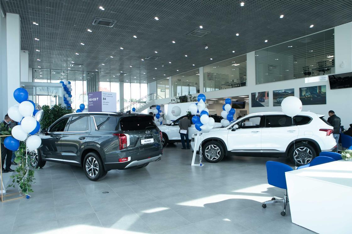 Дилерский центр Hyundai в Шымкенте