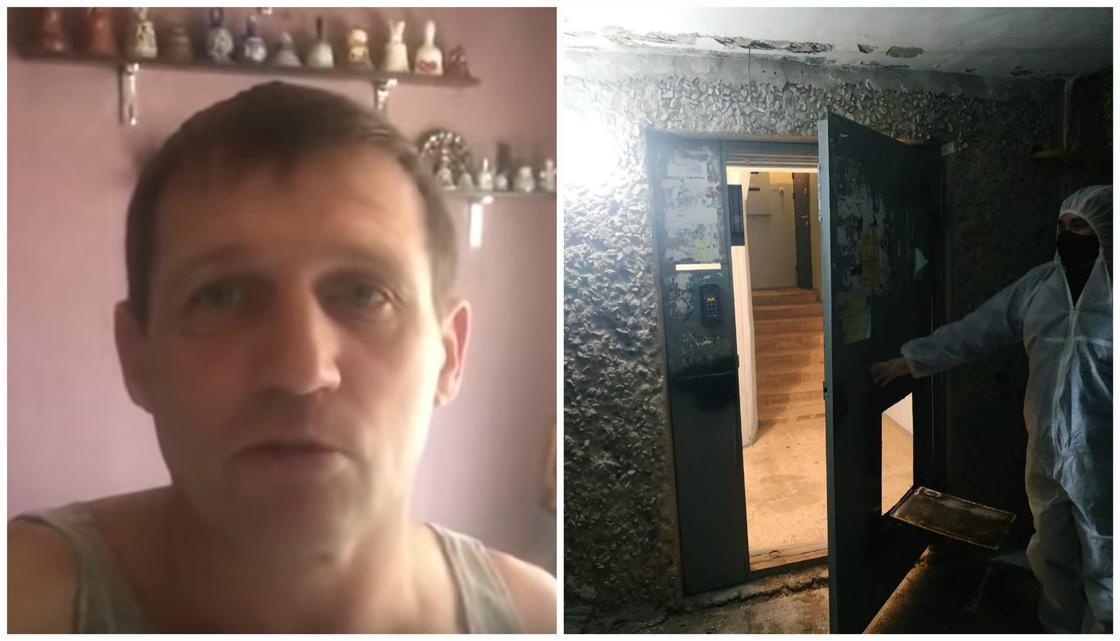 """""""Это пытка"""": житель изолированного подъезда в Актау рассказал о карантине (видео)"""