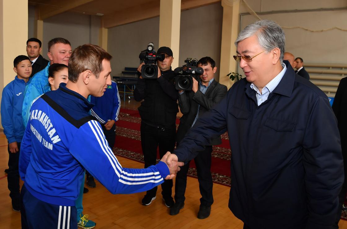 Всего полдня: что Токаев делал в Акмолинской области (фото)