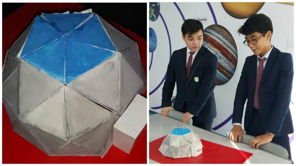 Двое школьников из Павлодара планируют колонизировать Марс