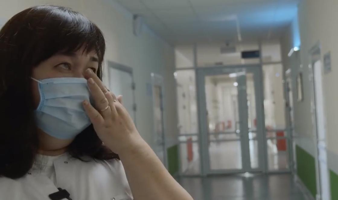 """""""28 жыл жұмыс істеп, мұндай сұмдық көрмедім"""": Елордалық дәрігер көз жасын тия алмады (видео)"""