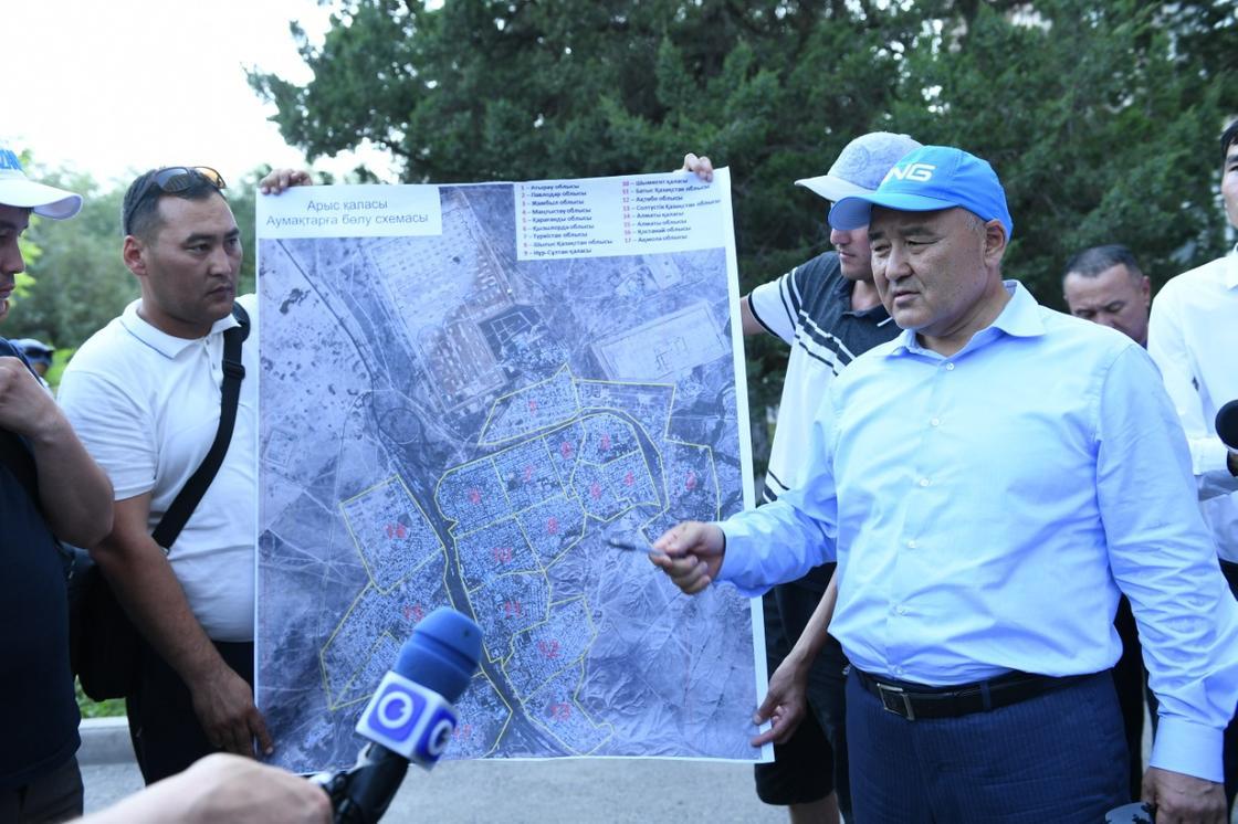 Фото: Түркістан облысы әкімінің баспасөз қызметі