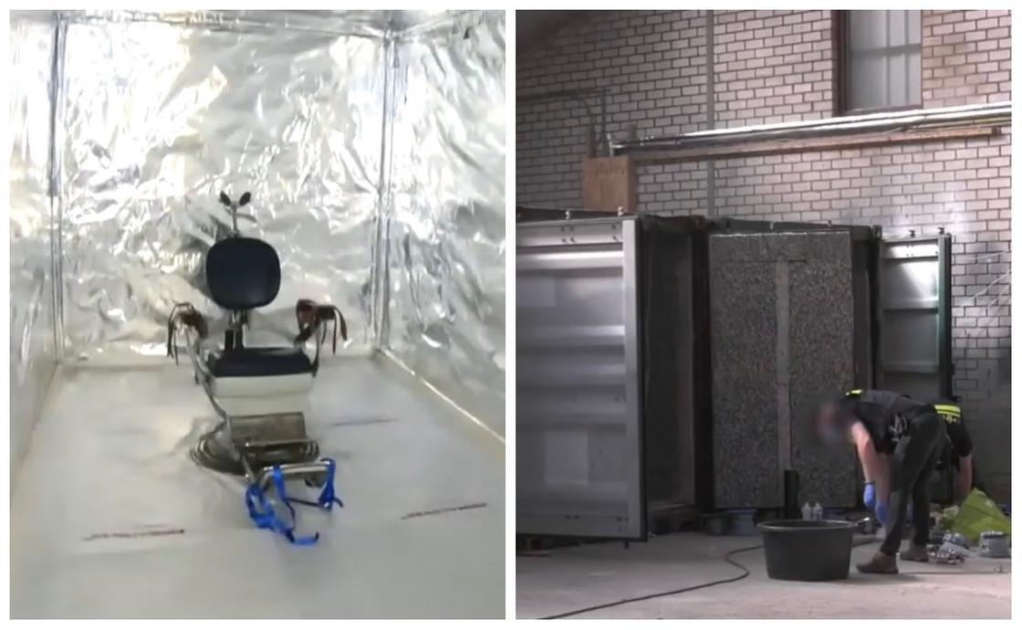 Импровизированные камеры для пыток