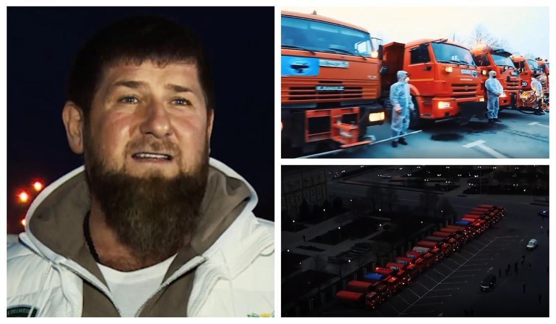 Кадыров показал свою команду по спасению Чечни от коронавируса
