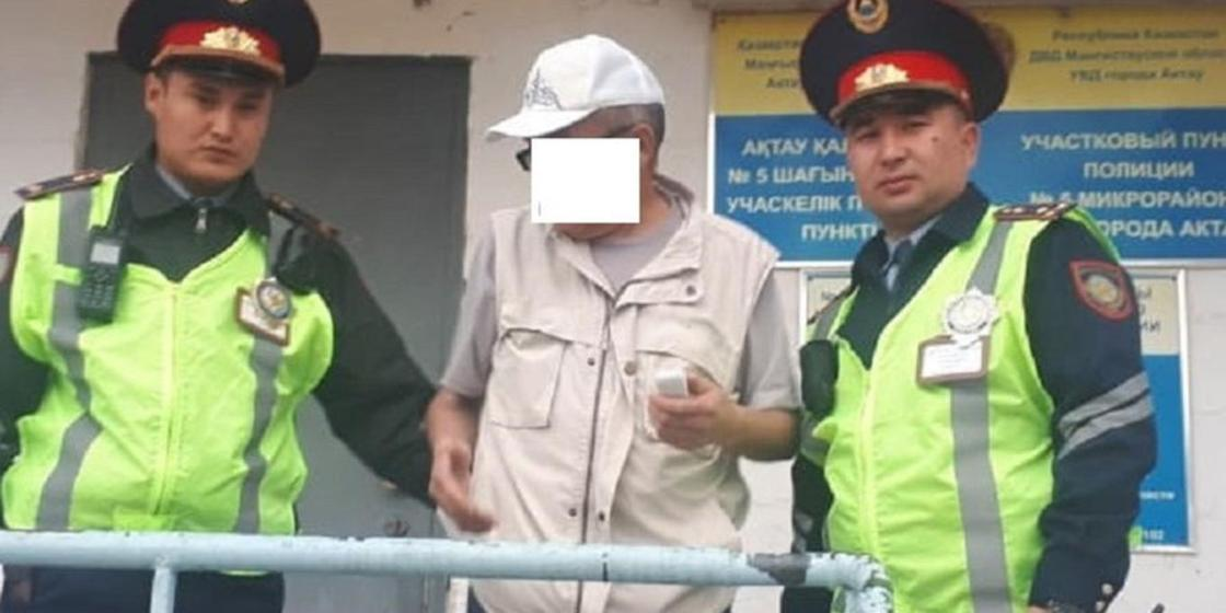 фото: Маңғыстау облыстық полиция департаменті