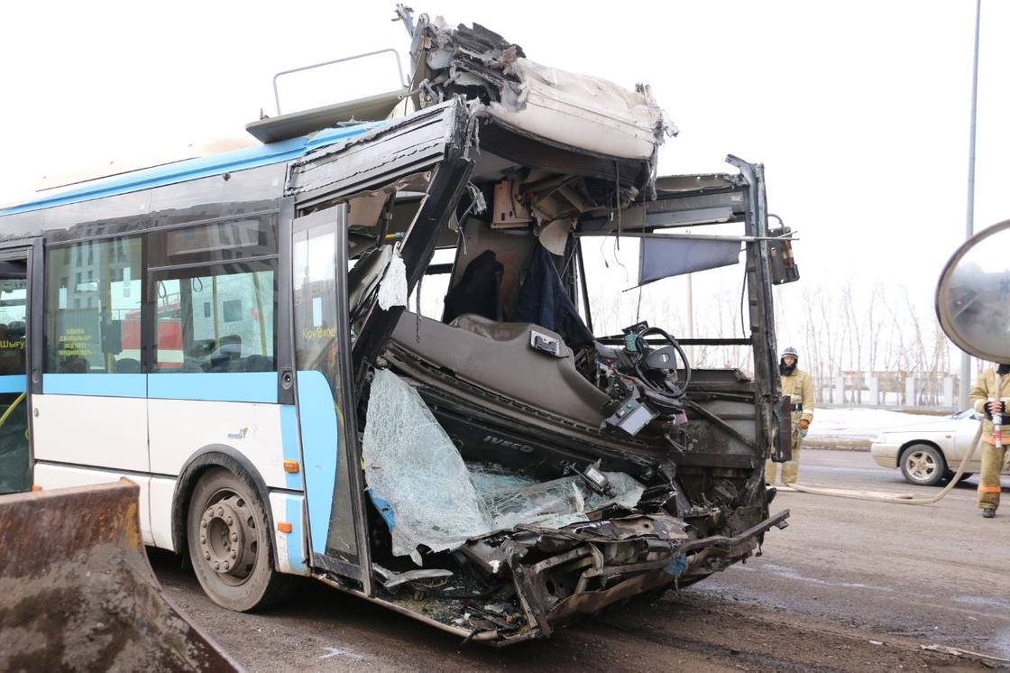 Жүрегі ұстап қалған:Нұр-Сұлтандағы жантүршігер автобус апатының құпиясы ашылды