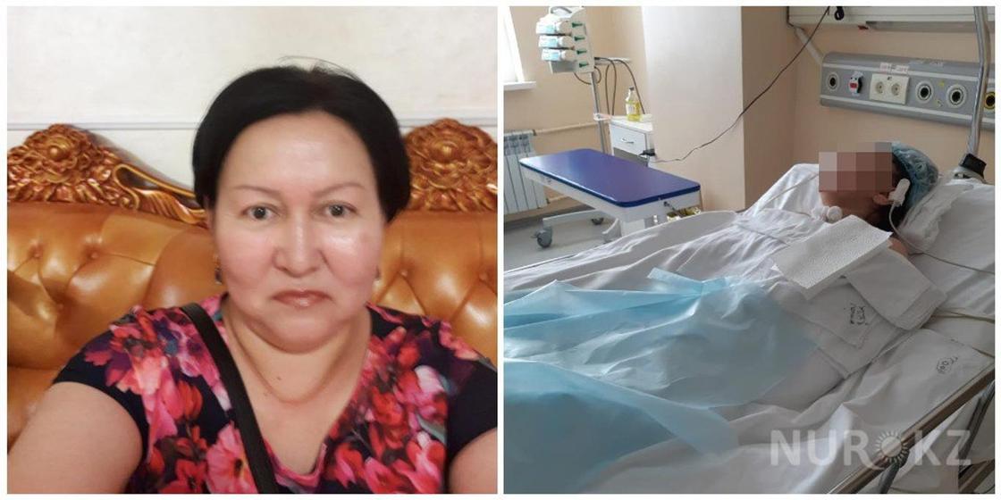 Сестра впавшей в кому после пластической операции женщины просит о помощи