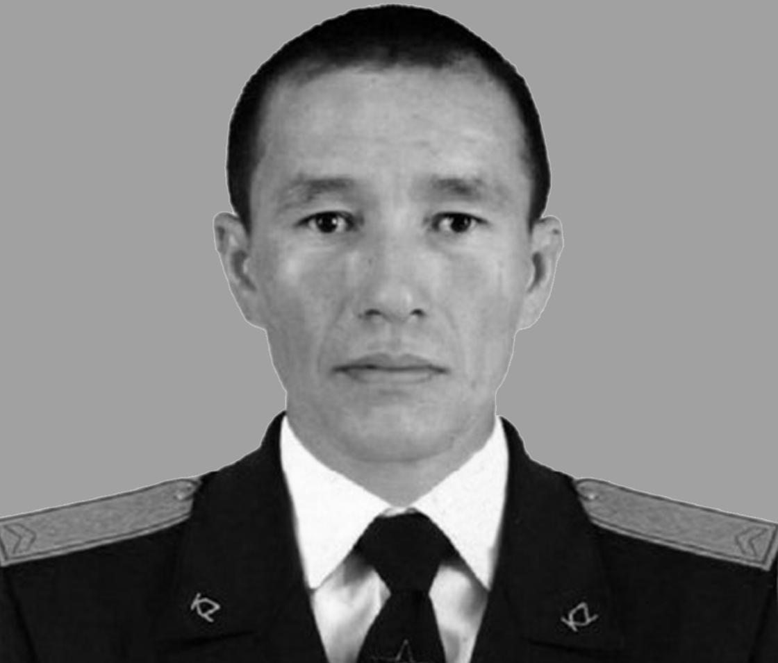 Ефрейтор Руслан Жанбулатов