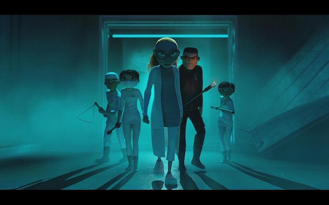 Кадр из мультфильма «Эверест»